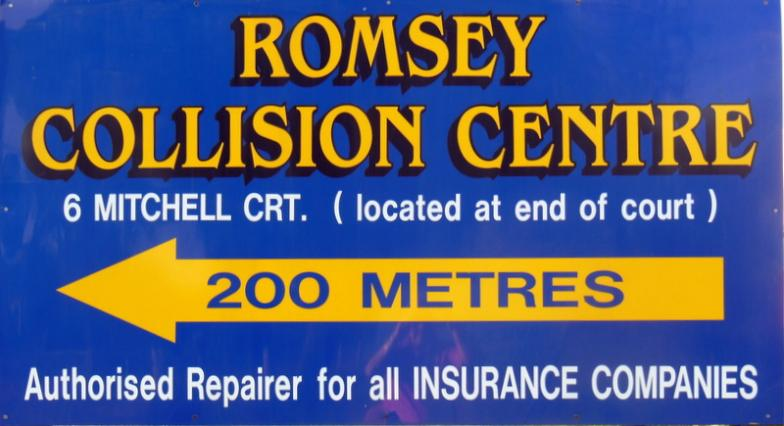 On Course - Romsey Collision