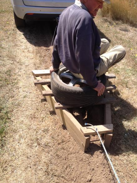 John's trench backfiller